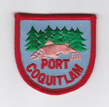 SCOUT OF CANADA - CANADIAN SCOUTS BRITISH COLUMBIA (BC) PORT COQUITLAM Patch
