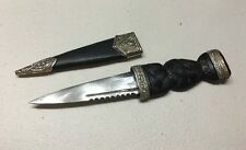 Genuine Small Scottish Dirk Knife Dagger Jeweled Sheffield