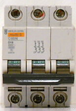 New 16 amp Schneider, Merlin Gerin Multi-9 Miniature Circuit Breaker, 24674