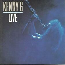 Kenny G: [Made in USA Version] Live        CD