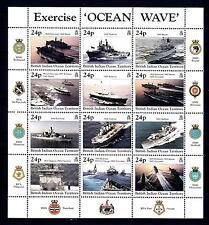 BIOT - BRITISH INDIAN OCEAN TERRITORY - BF - 1997 - Esercitazione navale
