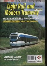 LIGHT RAIL AND MODERN TRAMWAY MAGAZINE - August 1997 - Vol. 60 - No. 716