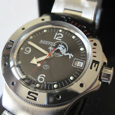 Vostok Russian Navy Military Scuba Diver Automatic Watch 060634-1