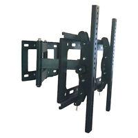 ARTICULATING TILT SWIVEL 3D TV WALL MOUNT BRACKET 4 LCD LED PLASMA FLAT PANEL 60