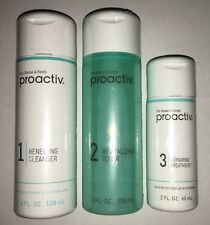 PROACTIV ACNE SKIN CARE SOLUTION 3PC 60 DAY SUPPLY KIT NEW FORMULA TREATMENT SET