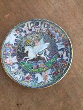 royal worctster plate legends of Ancient Greece Pegasus