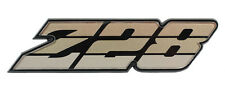 NEW Trim Parts Gold Z28 Grille Emblem / FOR 1980-81 CHEVY CAMARO / 6884
