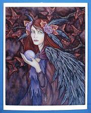 Amy Brown Tuatha de Denann 8.5x11 Fairy Queen Art Print Out of Print Faery