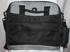 """Targus Latop Bag 14"""" Neoprene Black Grey Carry On Traveller"""