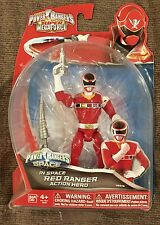 POWER RANGERS IN SPACE RED RANGER HARD TO FIND READY TO SHIP!
