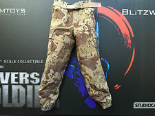 DAMTOYS BLITZWAY Universal Soldier Andrew Scott Camo Pants loose 1/6th scale