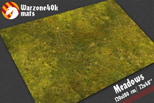 Meadows gaming mat Warhammer 40k Age Sigmar battle board table wargame terrain