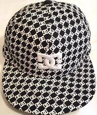 DC NewEra Fitted Cap All Over 59 Fifty EUC 7 3/8