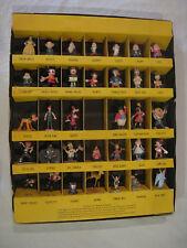 Vintage 1960's Disney Marx RARE Miniature Plastic Disneykins Figures Lot of 41