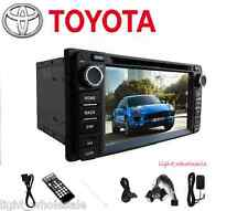 "GPS Navi 6.2"" 2 Din Car Radio Stereo DVD Player WiFi BT For Toyota Camry Corolla"