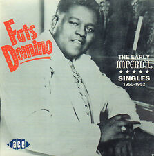 FATS DOMINO - THE EARLY IMPERIAL SINGLES 1950-1952 (1996 UK CD COMPILATION)