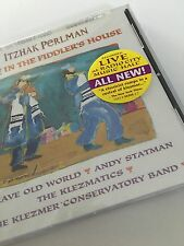 Itzhak Perlman CD Live in the Fiddler's House 1996 Klezmer Conservatory Band New