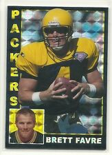 Custom 1/1 ACEO Refractor Style Prism Card Brett Favre Packers Throwback
