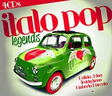 CD Italo Pop Legends  von Various Artists  4CDs