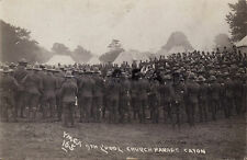 Soldier Group Church Paarde 9th The Kings Liverpool Regiment Caton Lancashire
