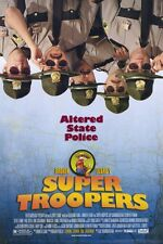 SUPER TROOPERS Movie MINI Promo POSTER Andre Vippolis Joey Kern Geoffrey Arend