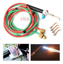New Jewelry Jeweler Micro Mini Gas Little Torch Welding Soldering kit&5 tips US