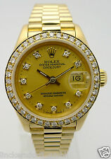 ROLEX LADY PRÄSIDENT DIAMOND DATEJUST - REF. 69178 in 18KT GELBGOLD