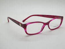 NEW Authentic VERSACE Mod. 3207 5132 Fuchsia 52mm RX Eyeglasses