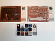 Starbucks Cards Japan Discoveries Milano and Venezia, + Japan Fragment Jewels!