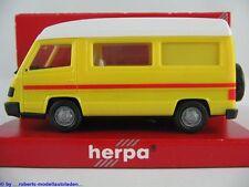 Herpa 042307 Mercedes-Benz 100D Wohnmobil (1992) in gelb/weiß 1:87/H0 NEU/OVP