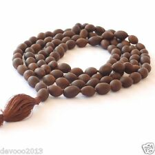 Lotus Seed Mala Holy Kamalgatta Japa Mala 108+1 Beads Yoga Meditation Necklace