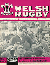 Welsh Rugby Revista mayo de 1969, Abertillery, Llandeilo según RFC & Jpr Williams