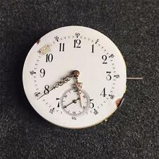 VINTAGE 46.7MM SWISS HUNTING CASE POCKETWATCH MOVEMENT