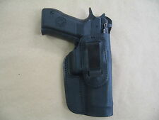 CZ 75 SP01 IWB Leather In Waistband Conceal Carry Holster BLACK  RH