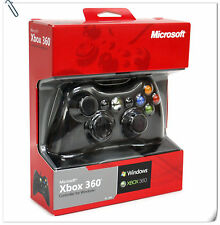 XBOX 360 WIRED CONTROLLER 100% FOR PC WINDOWS Microsoft X-BOX X 360