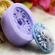 Rose Flower Silicone Fondant Cake Chocolate Sugarcraft Mold Cutter Tools DIY