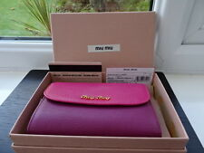 Gorgeous 100% Authentic Miu Miu Pink/Lilac Leather Purse Wallet BNIB