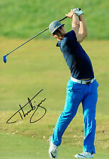 Thorbjorn OLESEN SIGNED Autograph World Golf Championship Photo AFTAL COA