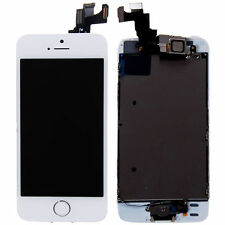 White LCD Lens Touch Screen Display Digitizer Replacement Assembly for iPhone 5S