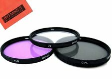 37MM 3PC Filter Kit For Panasonic Lumix G X Vario PZ 14-42mm O.I.S. Lens