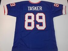 Buffalo Bills Steve Tasker UNSIGNED CUSTOM Blue Jersey - XL