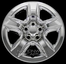 "4 CHROME 06-12 Toyota RAV4 17"" Wheel Skins Hub Caps Tire Rim Covers FREE SHIP"