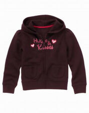 Gymboree Pups & Kisses hooded jacket size 7-8