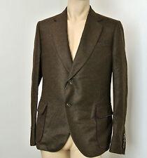 $3390 NEW Gucci Runway Cashmere DANDY Jacket Blazer, 50R/US 40R, #298590 Brown
