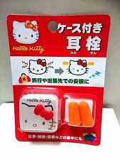 sanrio Hello Kitty  With a case  Ear plug Japan import