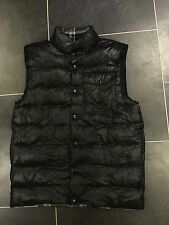 Nike Reversible Gilet Vest Sz Medium Grey Checked Skiing Snowboarding 439354 010