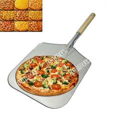 "Professional Pizza Peel 12"" Wooden Handle/12 x 14"" Blade//Bakers Pizza Paddle"