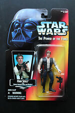 Star Wars 1995 POTF Power of the Force Han Solo Red Card Action Figure
