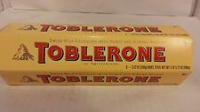 Toblerone - Case of Six 3.5 Ounce Bars - Swiss Chocolate with Honey and Almond