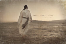 WALKING ON WATER BY MELANIE EWING JESUS CHRIST PRINT 20x30.